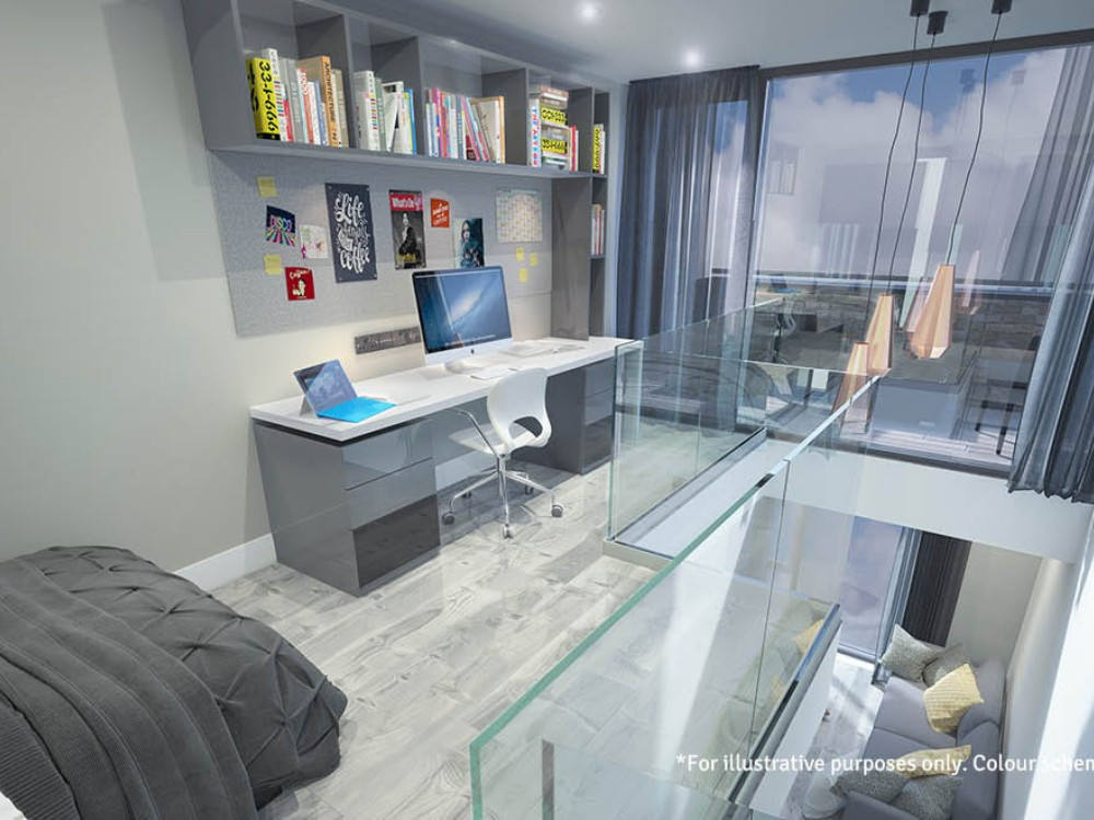 The Residence Coventry : Premium Mezzanine Studio | StudentStay