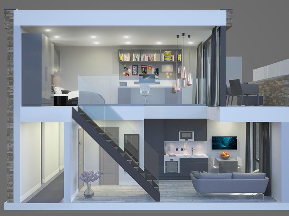 33 Parkside: Mezzanine Studio | StudentStay